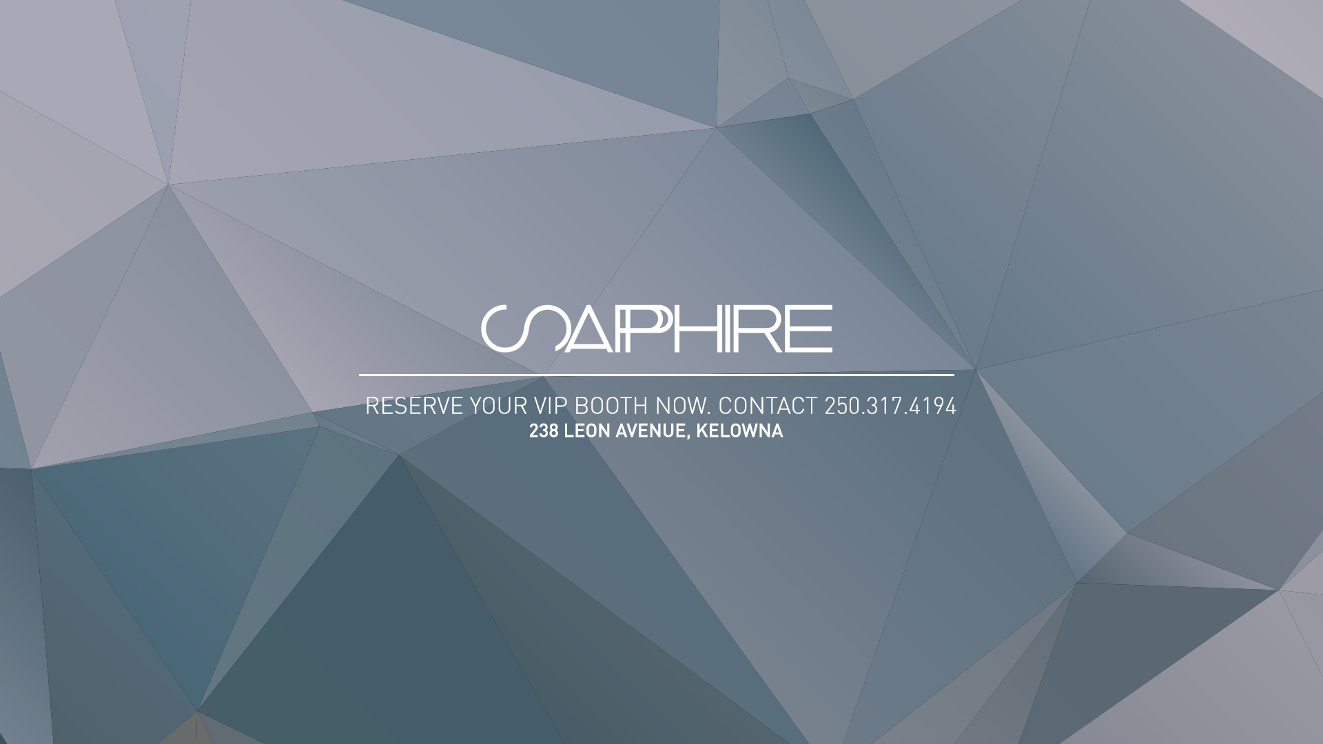Sapphire kelowna the hottest venue in town malvernweather Choice Image