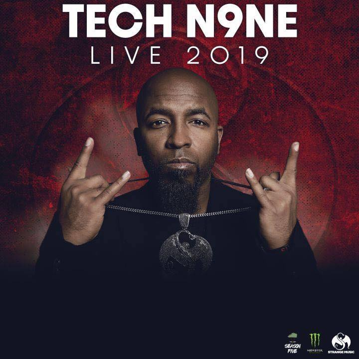 Image result for Tech N9ne concerts 2019